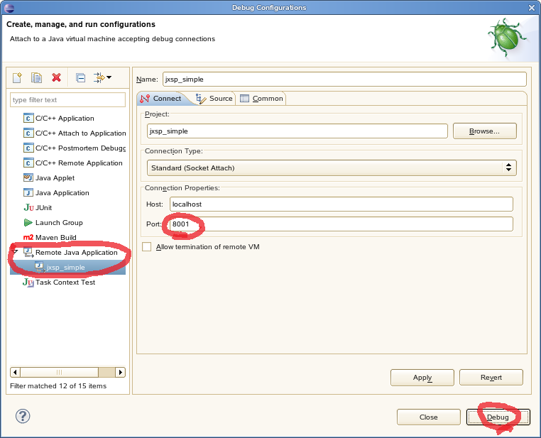 How to Create and Debug a Java XSP using Eclipse | Teradata