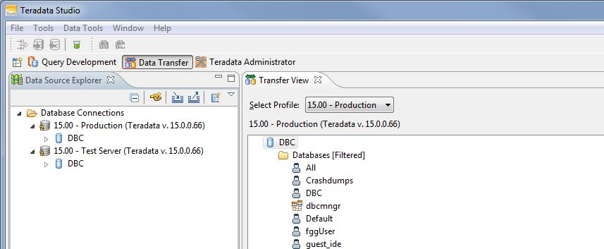 Teradata Studio's Copy Objects via Drag and Drop | Teradata