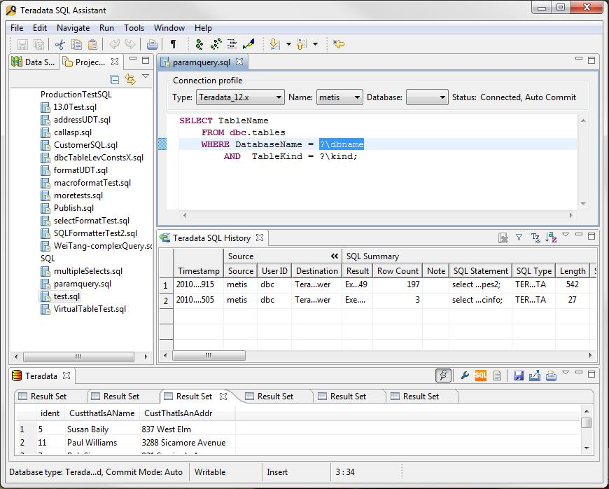 SQL Assistant Java Edition | Teradata Downloads