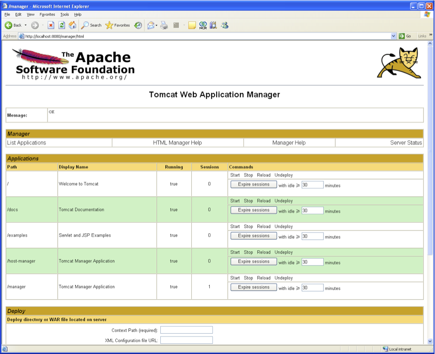 Deployment on Apache Tomcat Application Server   Teradata